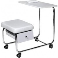 Маникюрный столик совмещенный со стулом без вытяжки